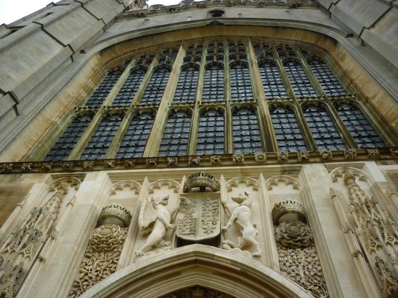 Chapel Entrance, King's College Cambridge - H Crawford/CrawCrafts Beasties