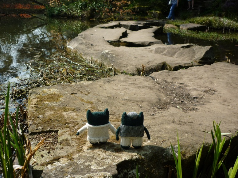Beasties on the Stepping Stones - H Crawford/CrawCrafts Beasties