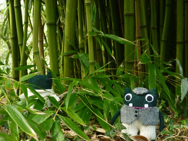 Beastie-Sized Bamboo Forest - H Crawford/CrawCrafts Beasties