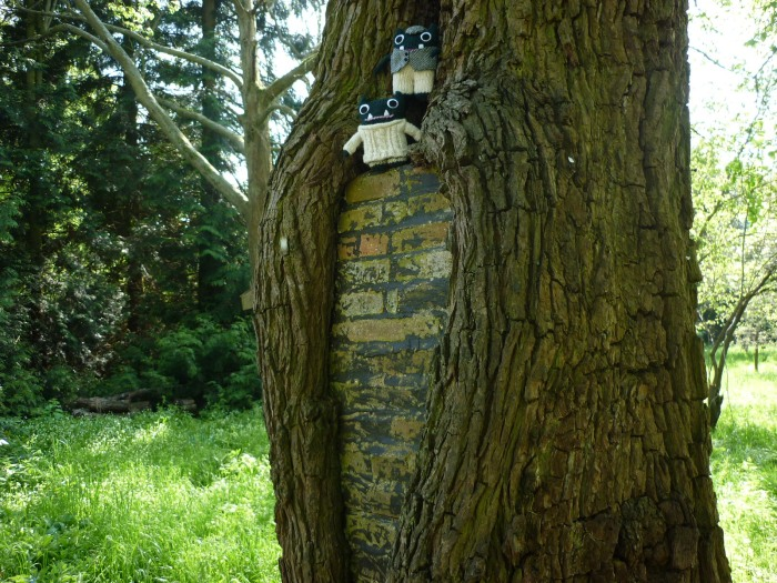 A Tree WIth a Wall - H Crawford/CrawCrafts Beasties