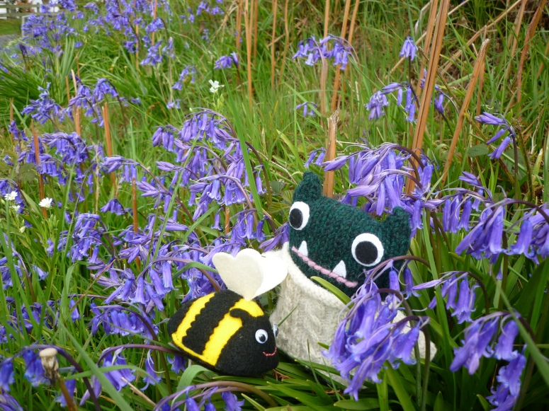 Paddy, Friend of the Bees! CrawCrafts Beasties