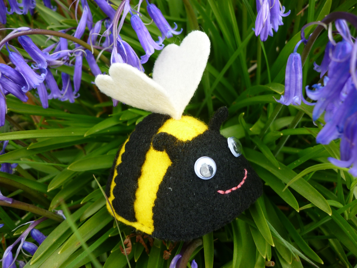 Bee Excellent to Each Other - CrawCrafts Beasties