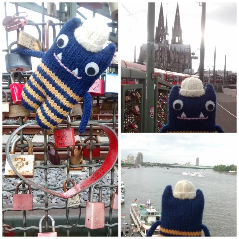 The Bridge Over the Rhine - CrawCrafts Beasties