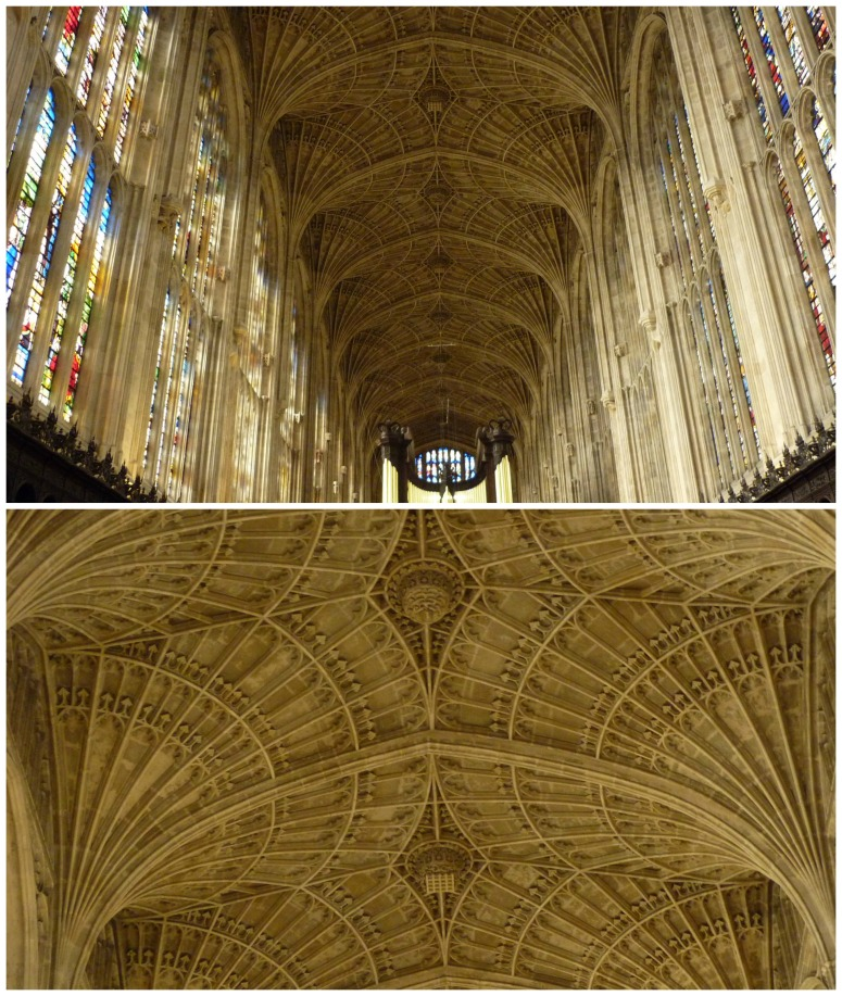 The Ceiling at King's College Chapel - H Crawford/CrawCrafts Beasties