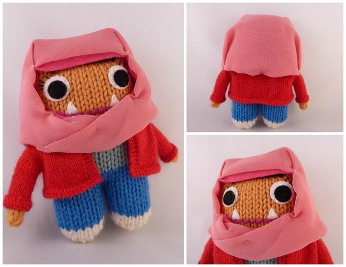 Beastie Girl in Hijab - CrawCrafts Beasties