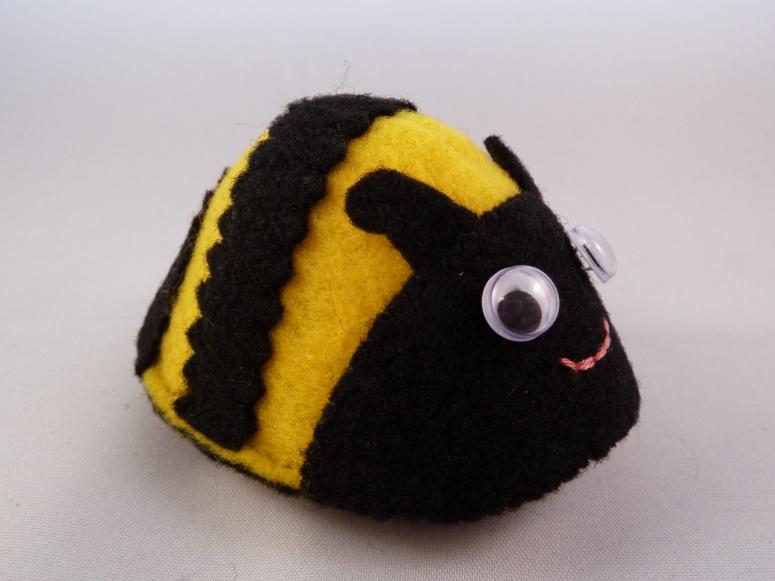 Flightless Bee - CrawCrafts Beasties