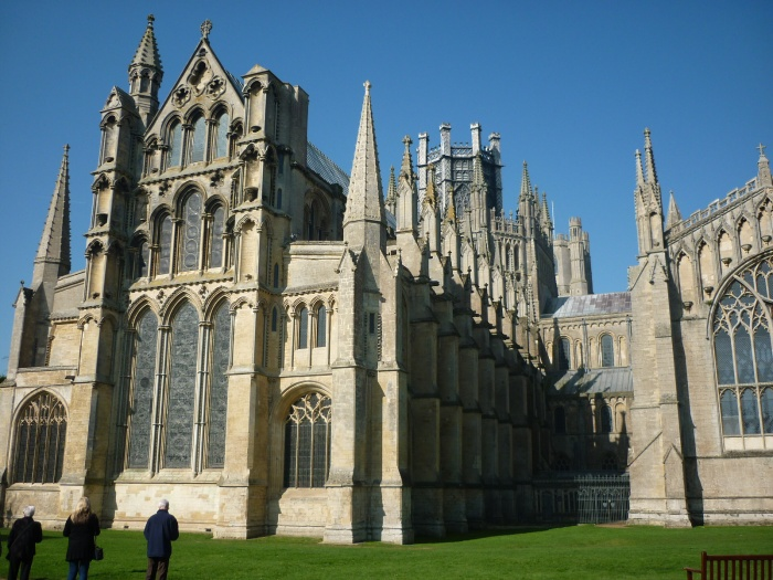 Ely Cathedral from the Front - H Crawford/CrawCrafts Beasties
