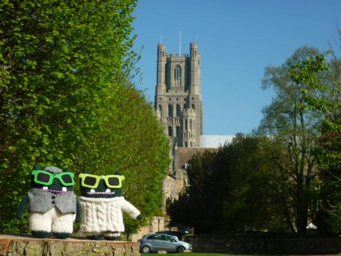 Beasties at Ely Cathedral - H Crawford/CrawCrafts Beasties