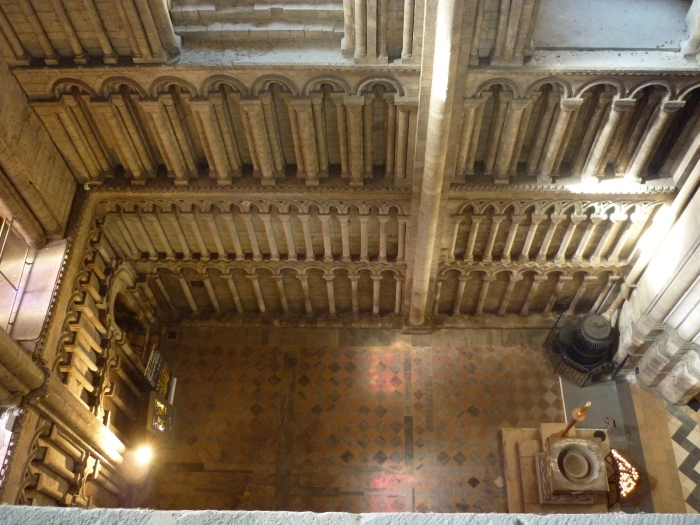 Going Up, at Ely Cathedral - H Crawford/CrawCrafts Beasties