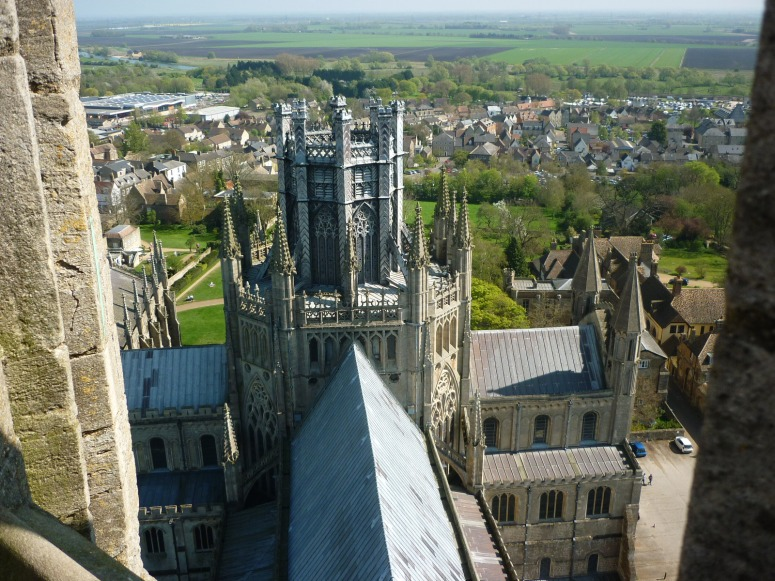 View from the top of the West Tower - H Crawford/CrawCrafts Beasties