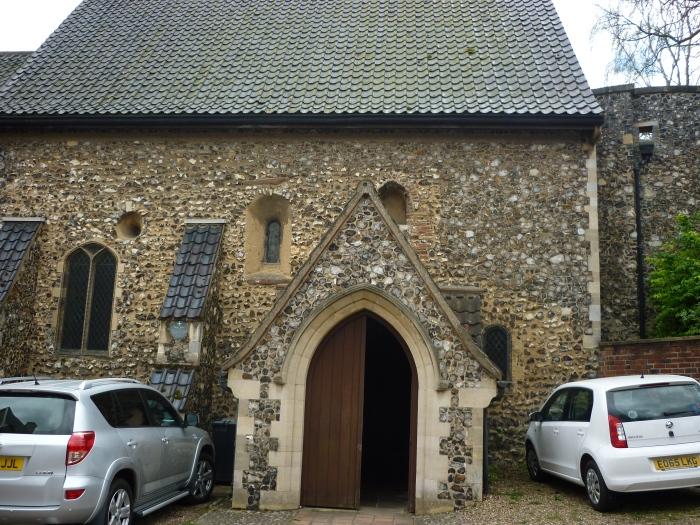St. Julian's Church, Norwich - H Crawford/CrawCrafts Beasties