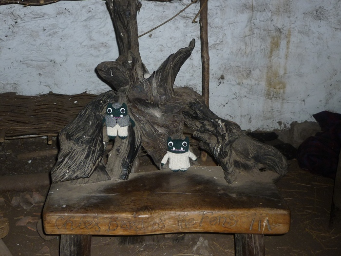Paddy, Plunkett and the Bog Oak Chair - H Crawford/CrawCrafts Beasties