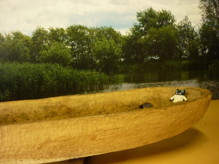 Paddy in the Dugout Canoe - H Crawford/CrawCrafts Beasties