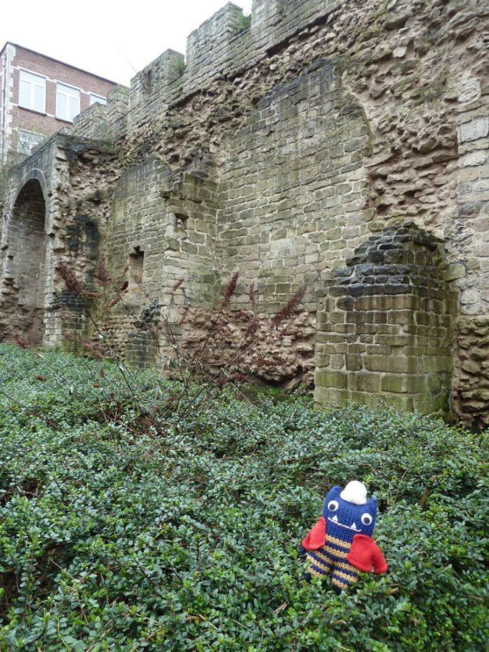 Old City Walls, Brussels - CrawCrafts Beasties