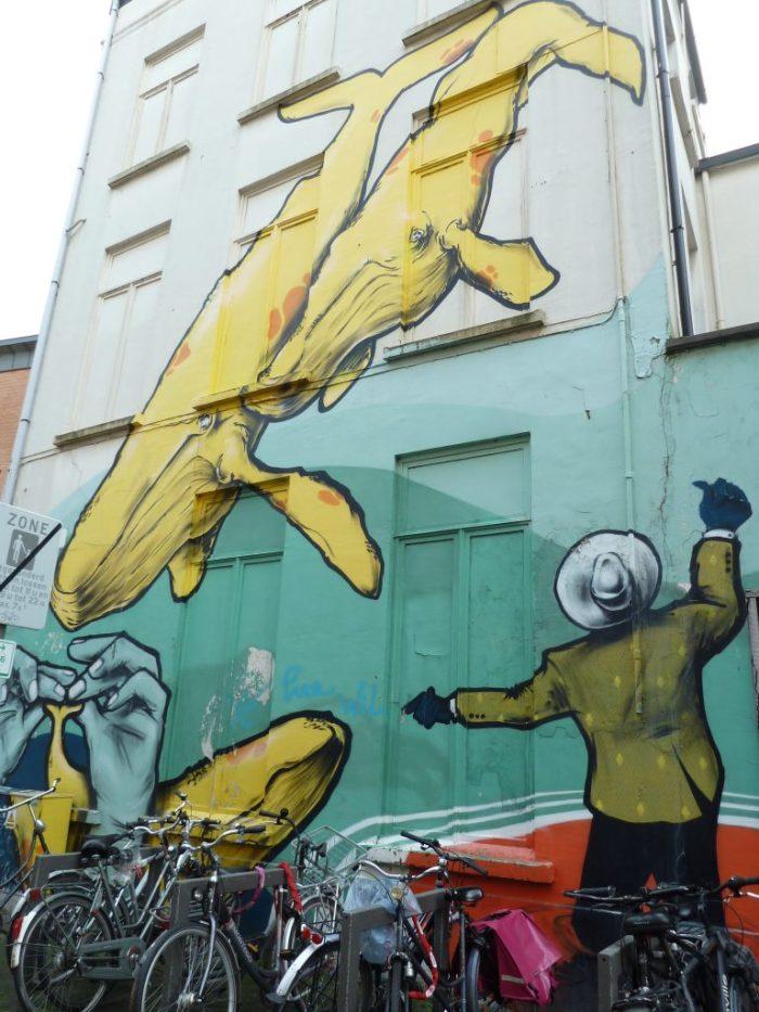 Street Art, Antwerp - CrawCrafts Beasties