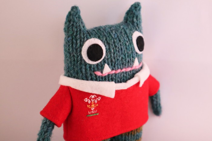 Rugby Shirt Featured - Wales Rugby Jersey - CrawCrafts Beasties