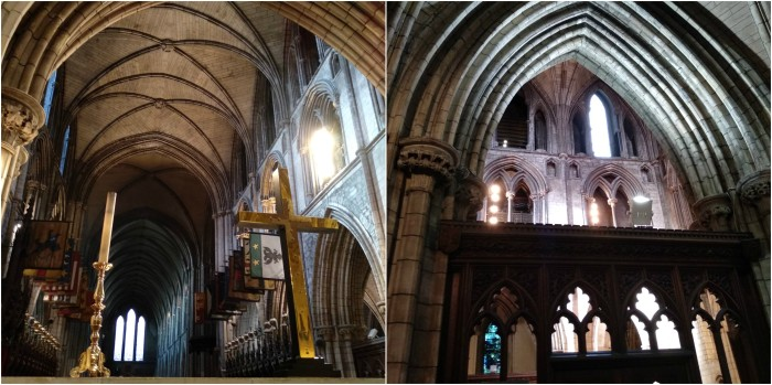 Inside the Cathedral - St Patrick's Cathedral, Dublin - CrawCrafts Beasties