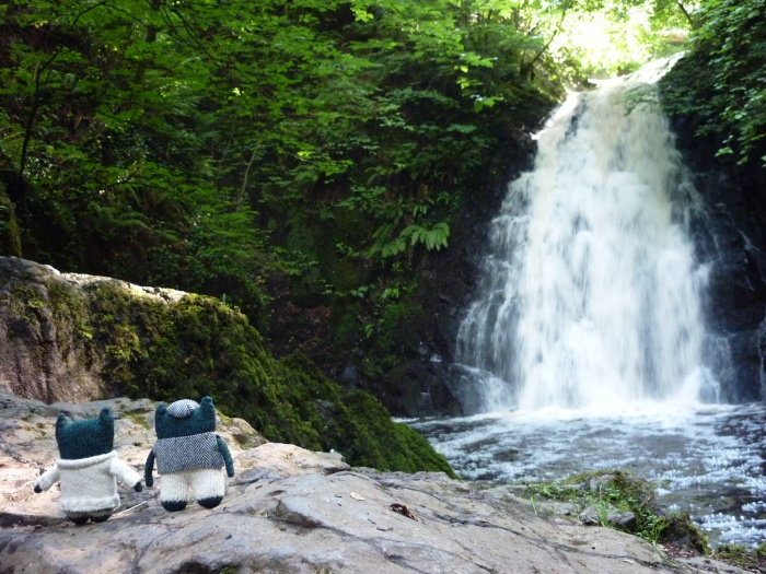 The Lads at Gleno Waterfall - H Crawford/CrawCrafts Beasties