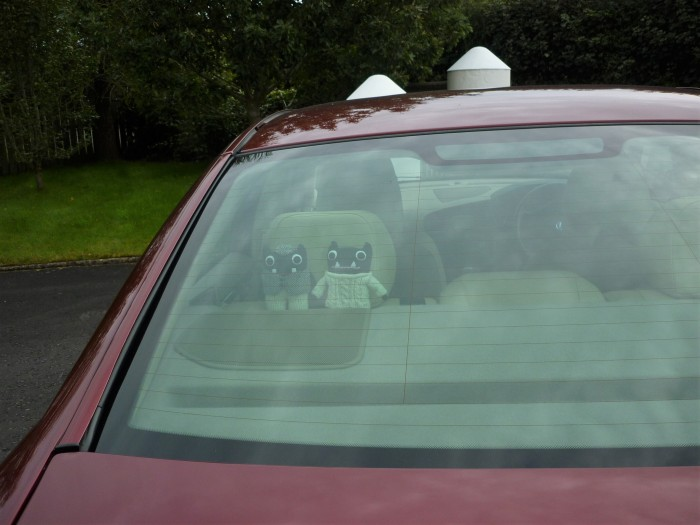 Travelling in Style - Paddy and Plunkett in Antrim - H Crawford/CrawCrafts Beasties