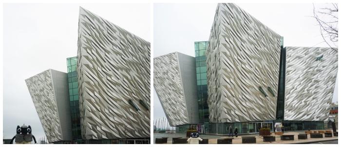 Titanic Belfast, With Beasties - CrawCrafts Beasties