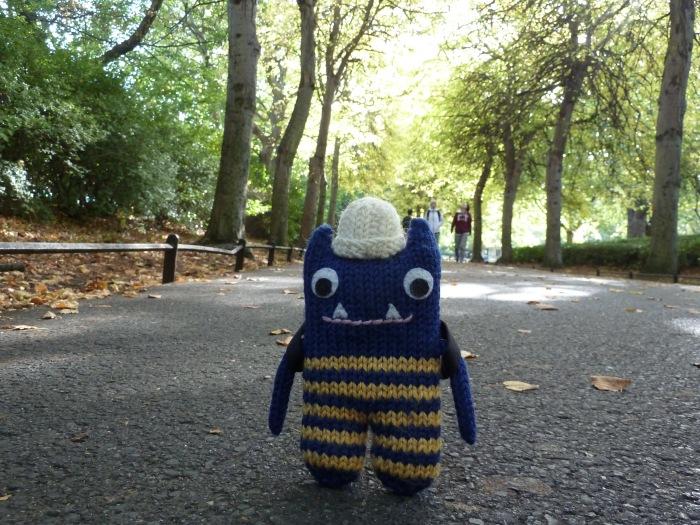 Lime Walk in Autumn - CrawCrafts Beasties