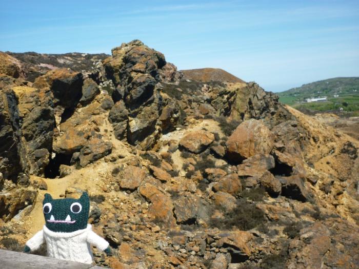 Paddy Explores Parys Mountain - H Crawford/CrawCrafts Beasties