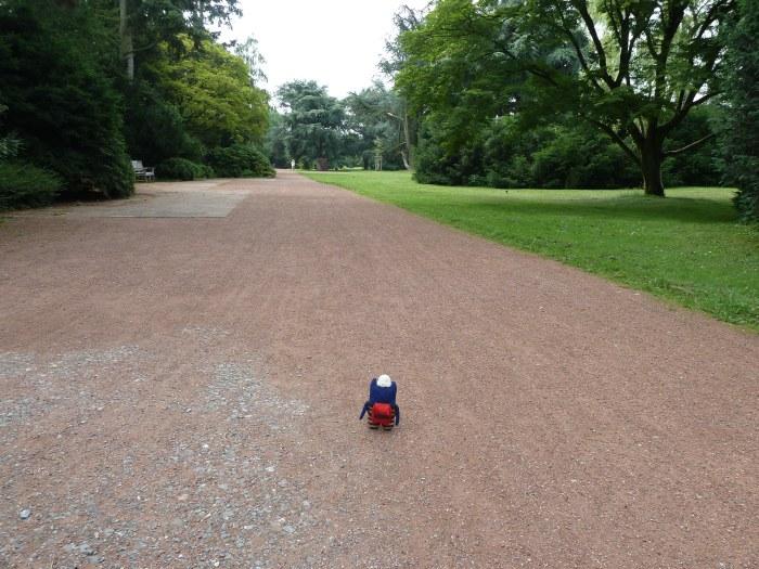 Walking in Nordpark, Dusseldorf - CrawCrafts Beasties