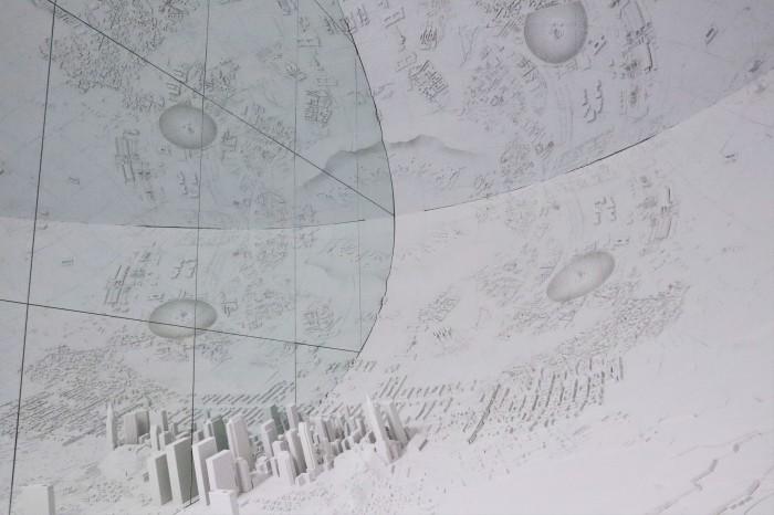 NY Berlin Wall - Pitzhanger Gallery - CrawCrafts Beasties