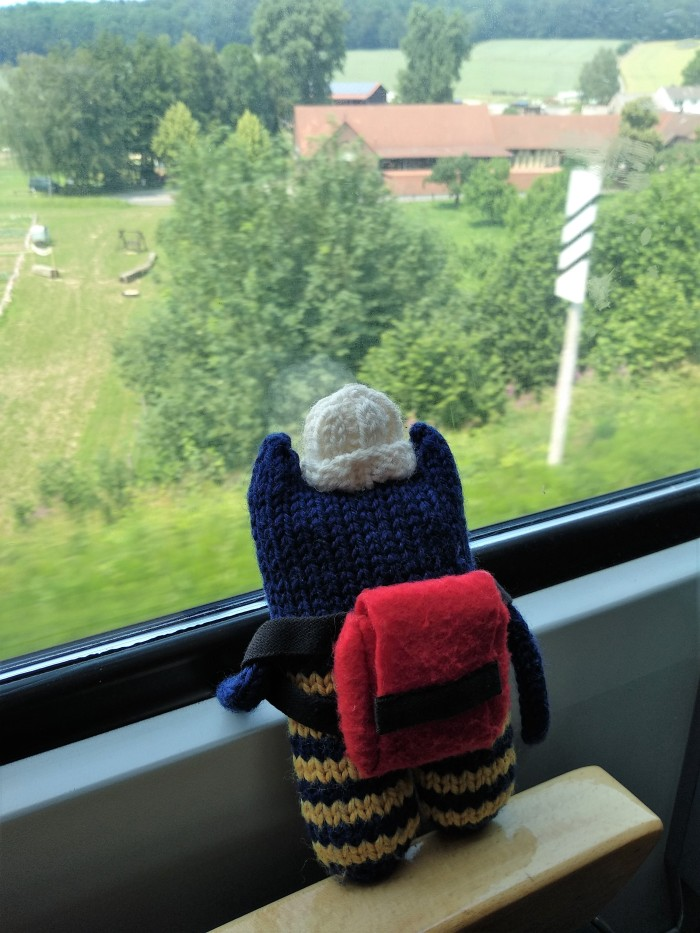 View from the Train - CrawCrafts Beasties, Beastie HQ
