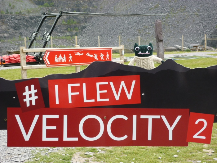 Paddy Flew Velocity 2! H Crawford/CrawCrafts Beasties
