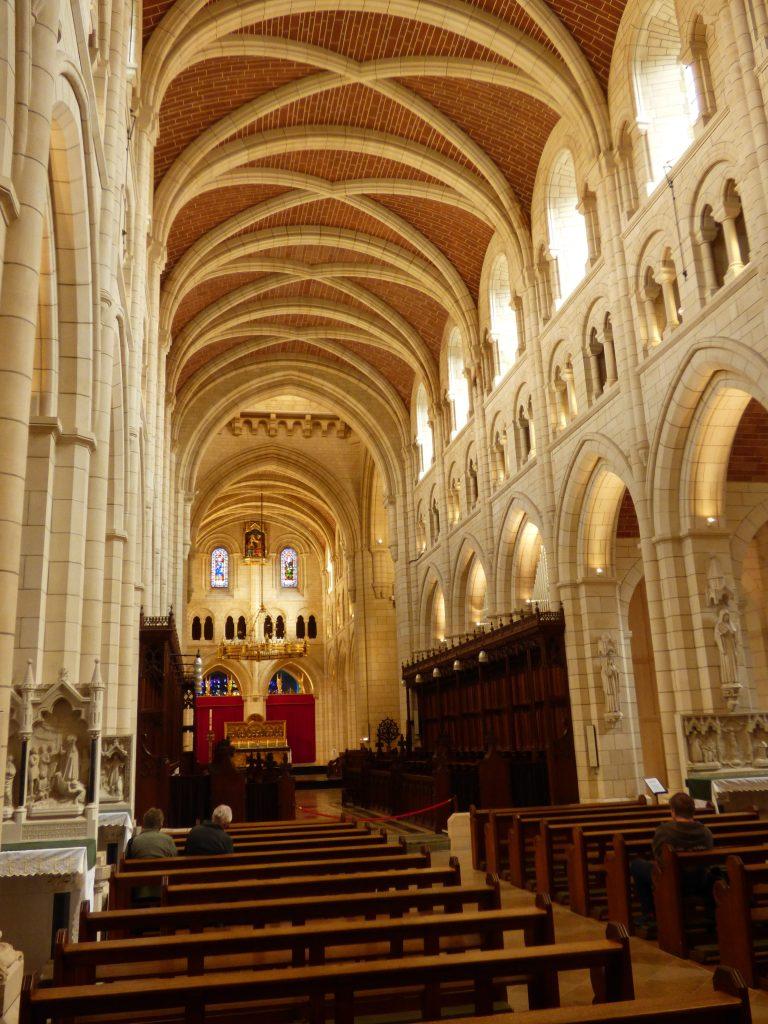 Inside Buckfast Abbey - B Crawford/CrawCrafts Beasties