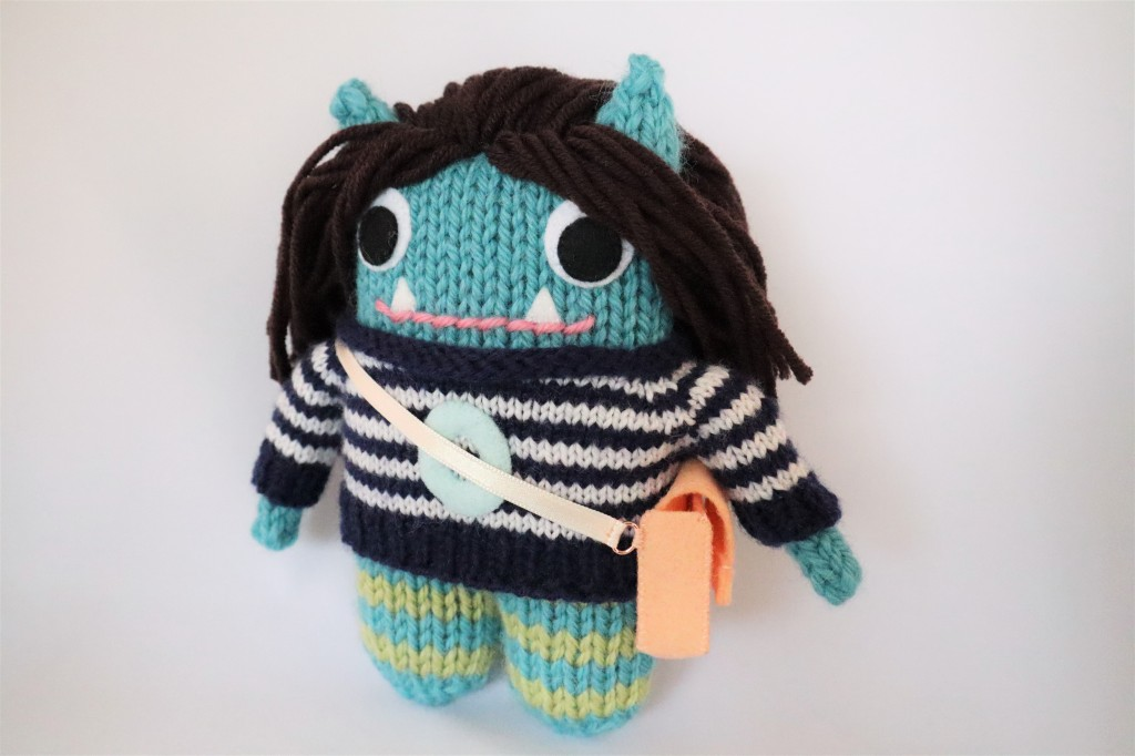 Beastie with Bag - Special Birthday Commission by CrawCrafts Beasties
