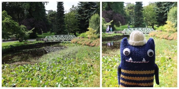 Lily Pond Bridge, National Botanic Gardens - CrawCrafts Beasties