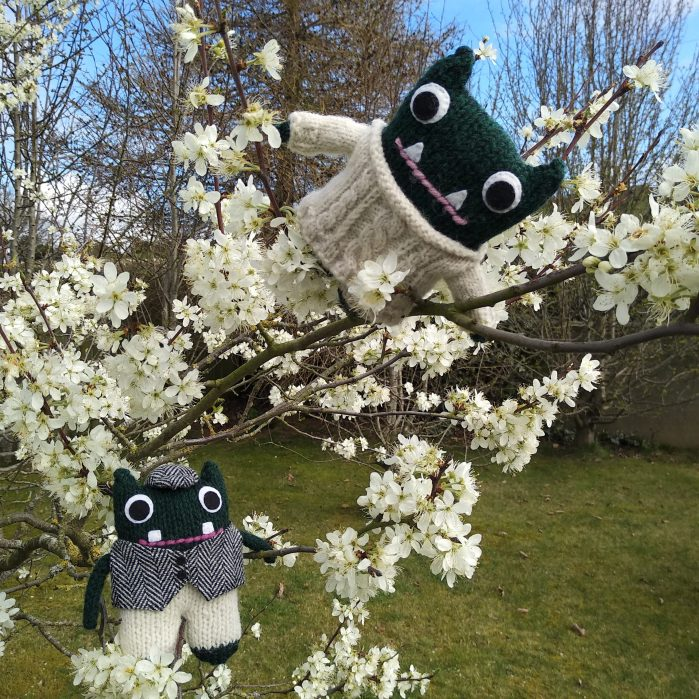 Tree Blossom - Paddy and Plunkett - CrawCrafts Beasties