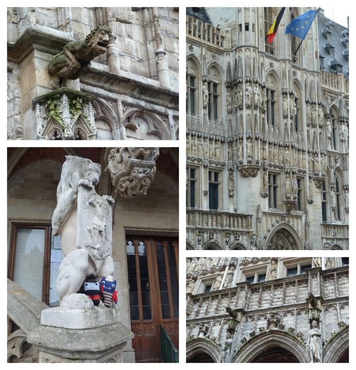 Gargoyles, Brussels Hotel de Ville - CrawCrafts Beasties
