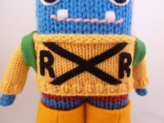 The Railroad Sweater, by CrawCrafts Beasties