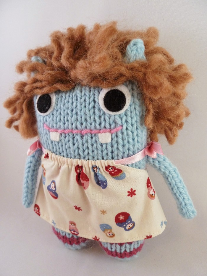 Holly Beastie, a Personalised Monster Doll by CrawCrafts Beasties