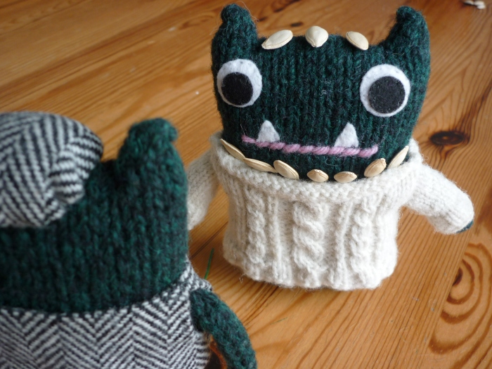 Paddy and the Courgette Seeds - CrawCrafts Beasties