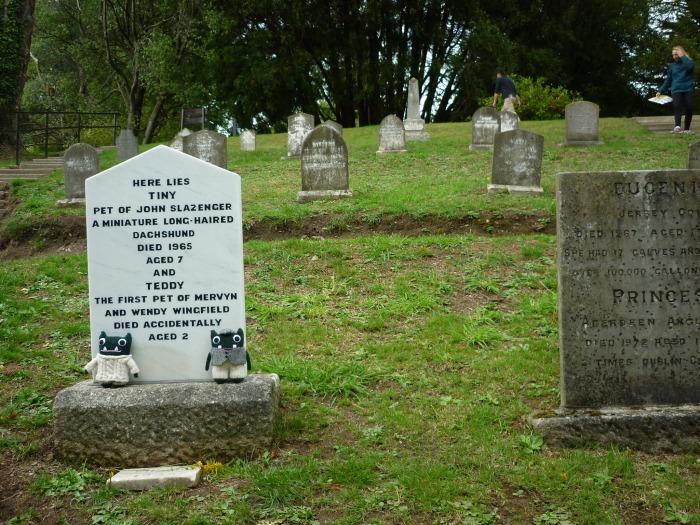 Pet Cemetery at Powerscourt - H Crawford/CrawCrafts Beasties