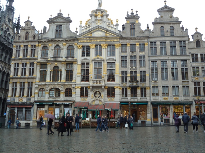 North East of the Grand Place, Brussels - CrawCrafts Beasties