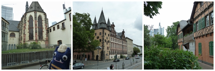 Old Meets New in Frankfurt - CrawCrafts Beasties