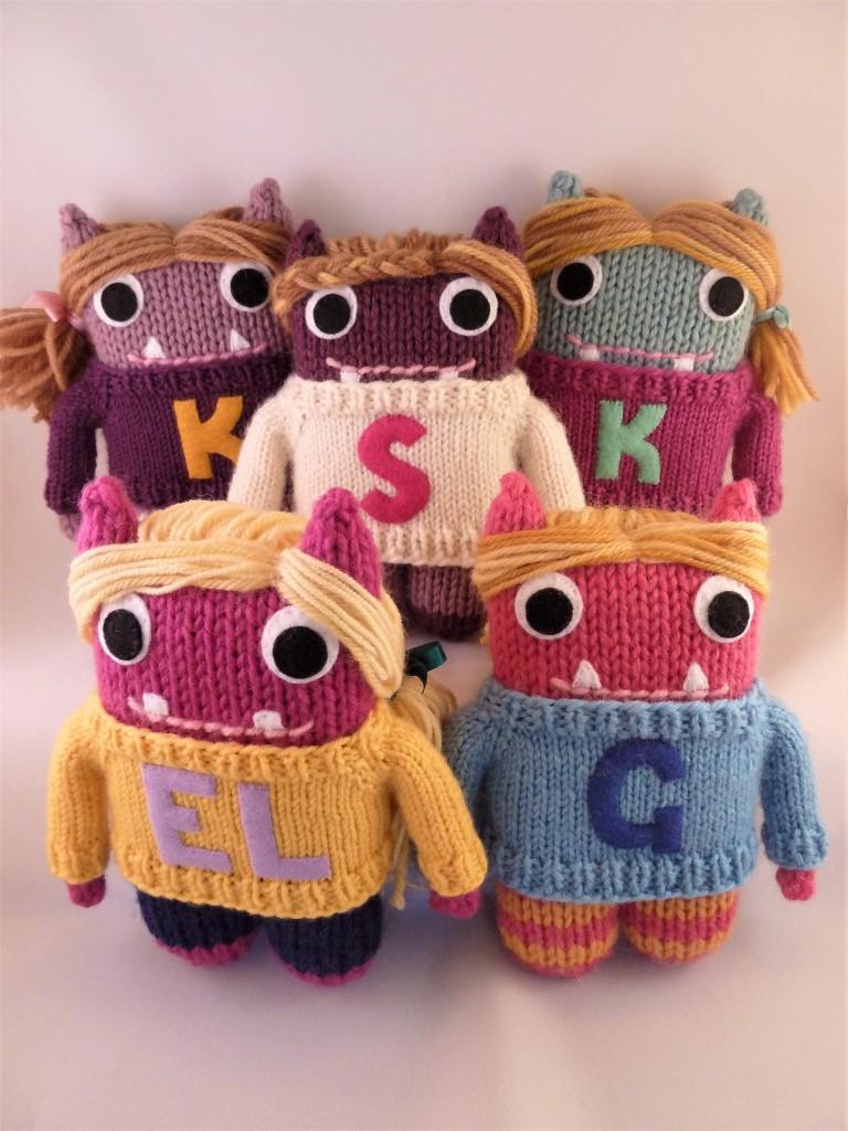 All the Girls - Custom Handmade Toys by CrawCrafts Beasties