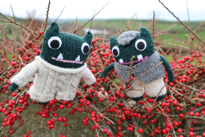 Paddy, Plunkett and some berries - CrawCrafts Beasties