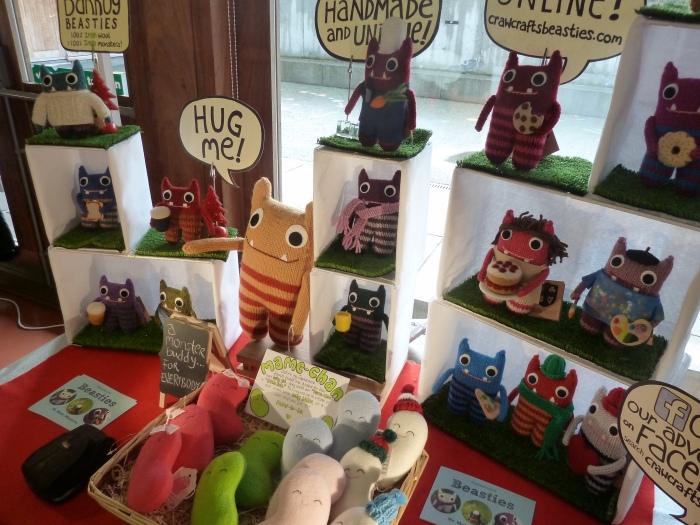 New Beastie Market Display - CrawCrafts Beasties