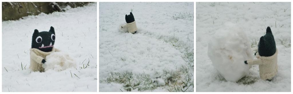 Paddy Builds a Snow Beastie - H Crawford/CrawCrafts Beasties