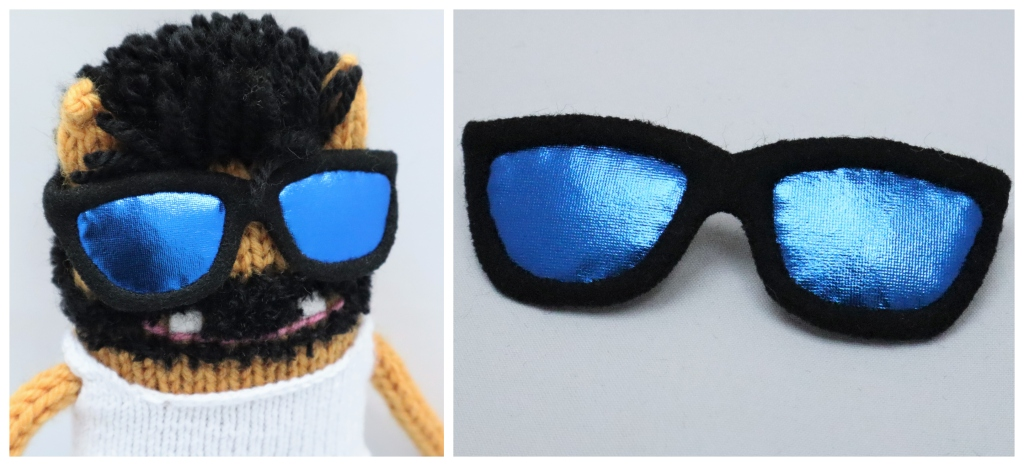 Virtual Reality Beastie Sunglasses - CrawCrafts Beasties