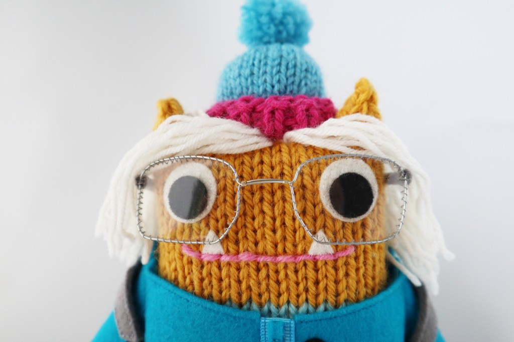 Beastie Hiking Equipment 1 - Woolly Hat - CrawCrafts Beasties