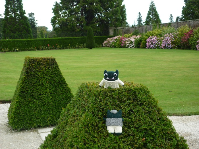 Climbing in the Walled Gardens - H Crawford/CrawCrafts Beasties