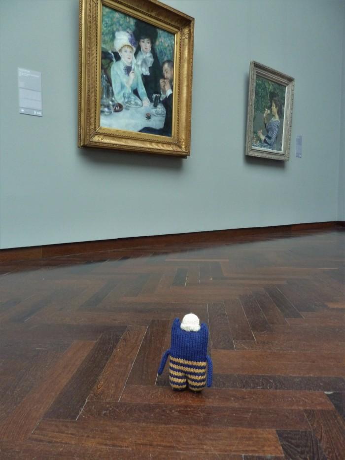 Renoir at the Staedel Museum - CrawCrafts Beasties