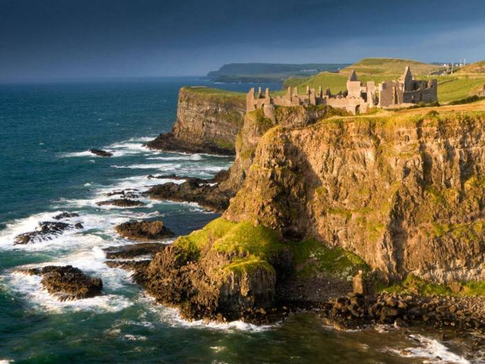 Dunluce Castle - Image from www.independent.co.uk